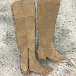 6176bef8369 Anthropologie Shoes - ANTHRO SPLENDID Ruby SUEDE Over The Knee Boots